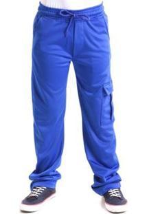 Calça Infantil Líquido Sport Boy Ii - Bic Masculina - Masculino-Azul