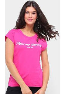 Camiseta Coca Cola Pause And Refresh Feminina - Feminino-Rosa