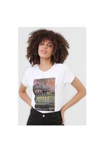 Camiseta Guess Sunny Daze Branca