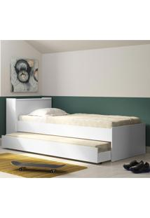 Bicama Com Bau 5009 Branco Premium - Multimóveis