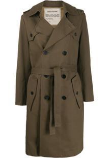 Zadig&Voltaire Trench Coat Mia - Verde