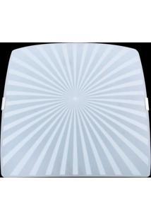 Plafon Sobrepor Quadrado Pequeno Radial Attena