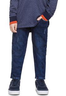 Calça Infantil Masculina Marinho