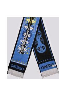 Cachecol Grêmio 4 Estações Escudos