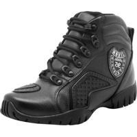 Kanui. Bota Coturno Militar Adventure Atron Shoes Preto b7c18d390d