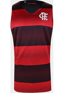 Regata Flamengo Dupla Face Smell Masculina - Masculino