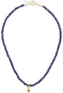 Isabel Marant Imani Beaded Necklace - Azul