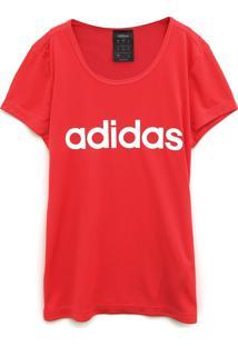 Blusa Adidas Infantil Logo Rosa - Tricae