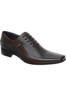 Sapato Social Scatamacchia Carneiro Com Cadarço - Masculino