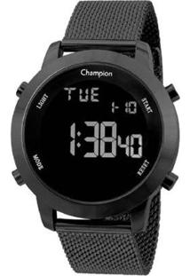 Relógio De Pulso Champion Digital - Feminino-Preto