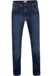 Calça Jeans Pierre Cardin Elastano Dual Fx - Masculino-Marinho 67e87b62a74