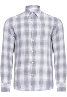 Camisa Masculina Resort - Cinza