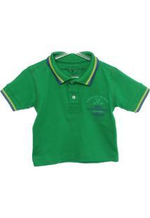 1eb81ee738 Camisa Polo Algodao Vr Kids infantil