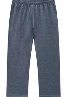 Calça Pijama Infantil Masculina Mescla