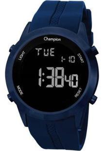 Relógio Champion Digital Ch40259A Feminino - Feminino-Azul