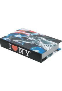 Livro Caixa Manhattan Colorido