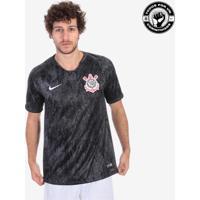 b85fc29db4 Camisa Nike Corinthians Ii 2018 19 Torcedor Masculina