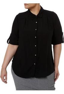 dce8e8d5eb Camisa Manga Curta Millenium Plus Size Feminina - Feminino