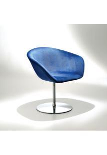 Cadeira Duna Base Giratória Em Alumínio Design By Studio Mais
