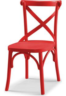 Cadeira X 87 Cm 901 Vermelho - Maxima