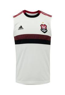 Camiseta Regata Do Flamengo Ii 2019 Adidas - Masculina - Branco/Vermelho