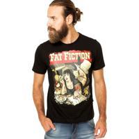 91563973f Camiseta Cavalera Preta masculina