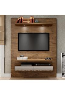 Painel Para Tv Tb106E 100% Mdf Nobre Com Espelho - Dalla Costa