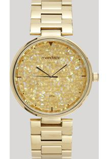 Relógio Analógico Mondaine Feminino - 99365Lpmvde2 Preto