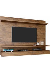 Painel Para Tv Pa15 100% Mdf 1,60Cm Cor Nobre - 29883 - Sun House