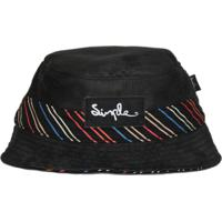 Chapéu Bucket Simple Skateboard Preto Lines e6b22b03883