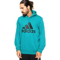 Dafiti. Moletom Adidas Performance Ess Logo Verde 935bbfbd16c89