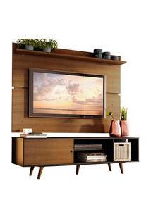 Rack Madesa Dubai E Painel Para Tv Até 65 Polegadas Com Pés Preto/Rustic D85Z Preto