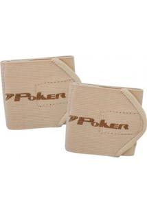 Munhequeira Poker Ajustável Basic