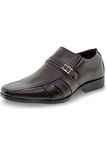 Sapato Masculino Social Parthenon - Rmo4004 Café 39
