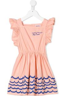 Bobo Choses Vestido Estampado - Rosa
