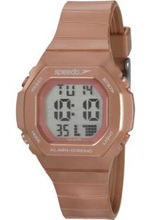 Relógio Digital De Borracha 80615L0Evnp3- Rosê Gold-Speedo