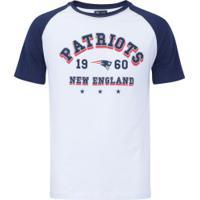 Camiseta New Era New England Patriots Sinse Team - Masculina - Branco Azul  Esc 0967ae3f71a92