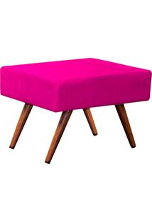 Puff Charme Suede Lymdecor Pink