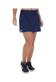 Short Saia Adidas Club - Feminino - Azul Escuro