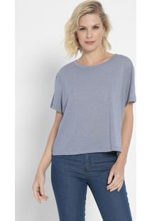 Camiseta Lisa- Azul- Colccicolcci