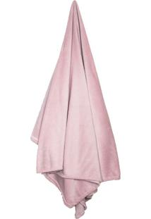 Cobertor Solteiro Loft Rose (150X220Cm)