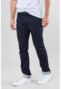 Calça Jeans Estique-Se Ronaldo Reserva Masculino - Masculino-Azul