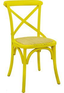 Cadeira Katrina Amarela Rivatti Móveis