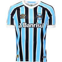 Supimpa Calçados. Camiseta Grêmio Of. 1 2018 Umbro Tricolor fe55537bf5934