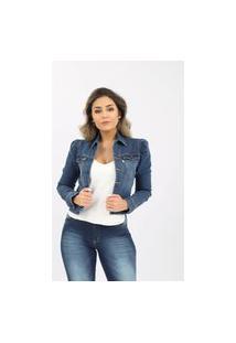 Jaqueta Jeans Clothify Triunfo Azul