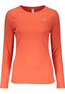 44d4c54e46 Camiseta Adidas Techfit Manga Longa Feminina Coral