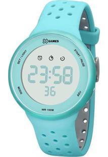Relógio Feminino X-Games Digital Xfppd041 - Unissex-Azul