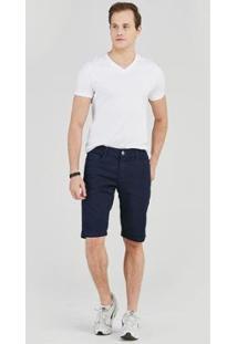 Bermuda Jeans Express Regente Masculina - Masculino-Azul
