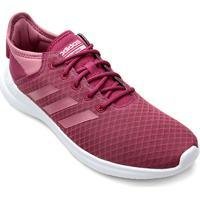 Tênis Adidas Cf Qtflex Feminino - Feminino-Vinho+Branco de5cd503568f7
