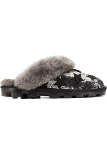 Ugg Australia Star Sequin Slippers - Preto
